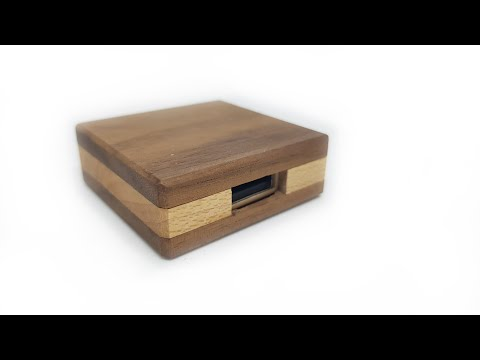 How To Make a Wooden USB Drive / Case / Stick #2