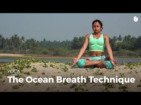Learn the Ocean Breath Technique - Ujjayi Pranayama | Yoga