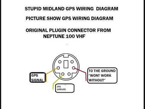 neptune 100 gps wiring diagram youtube