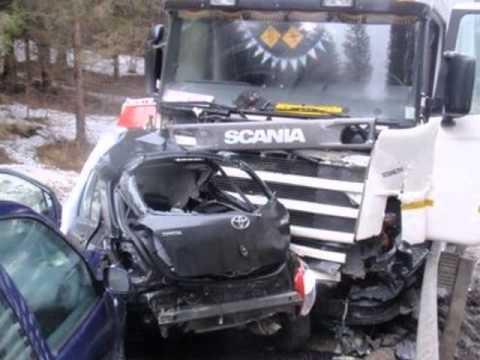 Incidenti stradali di camion youtube - Foto di grandi camion ...