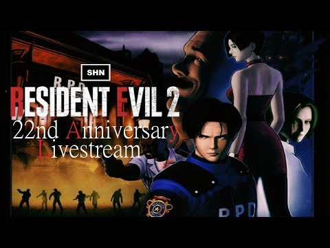 Resident Evil 2 22nd Anniversary Livestream Playthrough No Commentary
