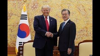 现场直播:美国总统特朗普与韩国总统文在寅联合记者会(同声传译)