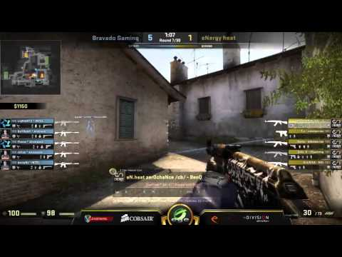 Bravado Gaming vs Energy Esports - Corsair CS:GO Championship (Bo1 Group Match)