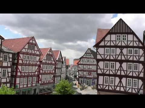 GERMANY Homberg, Hessen (hd-video)
