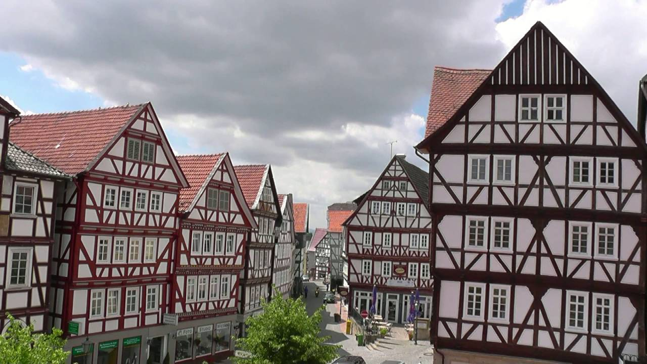 GERMANY Homberg, Hessen (hd-video)