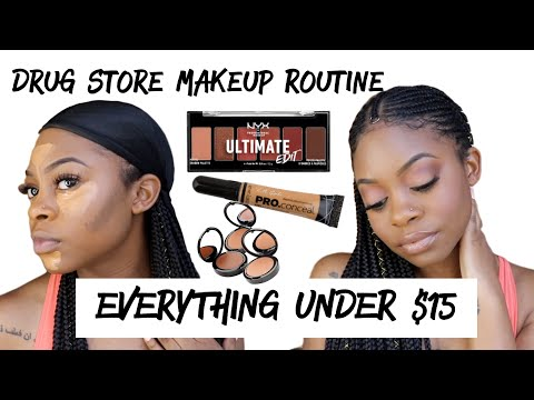 DRUG STORE  FACE ROUTINE  Everything Under $15