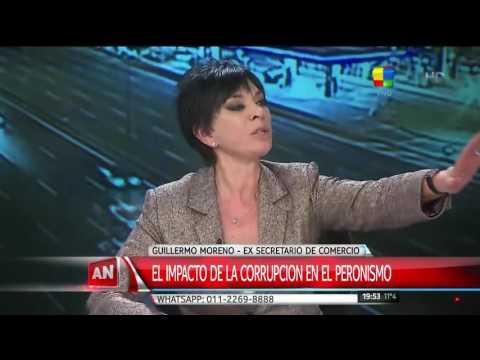 Guillermo Moreno Entrevista en America Noticias 1° Parte