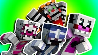 Minecraft Fnaf: Sister Location - The Great Funtime Freddy Race (Minecraft Roleplay)