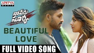 Beautiful Love Full Song | Naa Peru Surya Naa Illu India | Allu Arjun, Anu Emmanuel