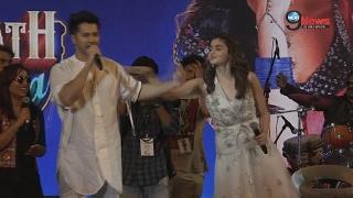 Varun Dhawan & Alia Bhatt's SEXY DANCE Moves On Tamma Tamma Song || Kala Ghoda Arts festival 2017