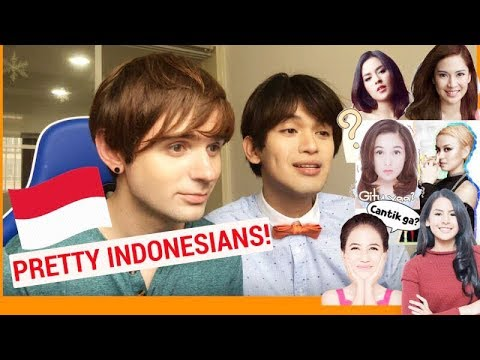 WHO'S THE PRETTIEST INDONESIAN? (Foreigners saw Indonesian Stars for the first time)