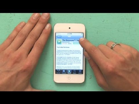 How To Load Games On IPod Touch : Using An IPod Touch