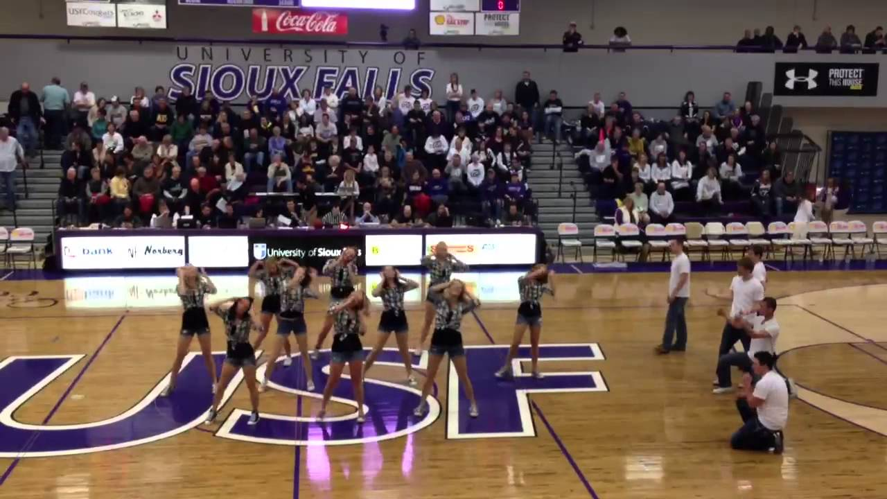 University of Sioux Falls Dance Team 2/15/13 - YouTube
