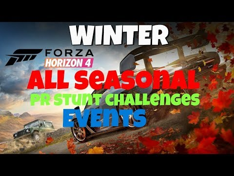 Winter Seasonal Events And PR Stunts Forza Horizon 4 ***Jan