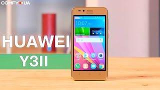 huawei Y3II - бюджетный смартфон со стильным дизайном - Видео демонстрация
