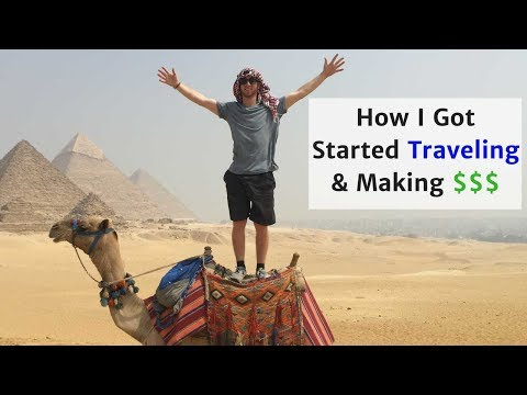 How I Got Started Traveling & Making a Living Abroad