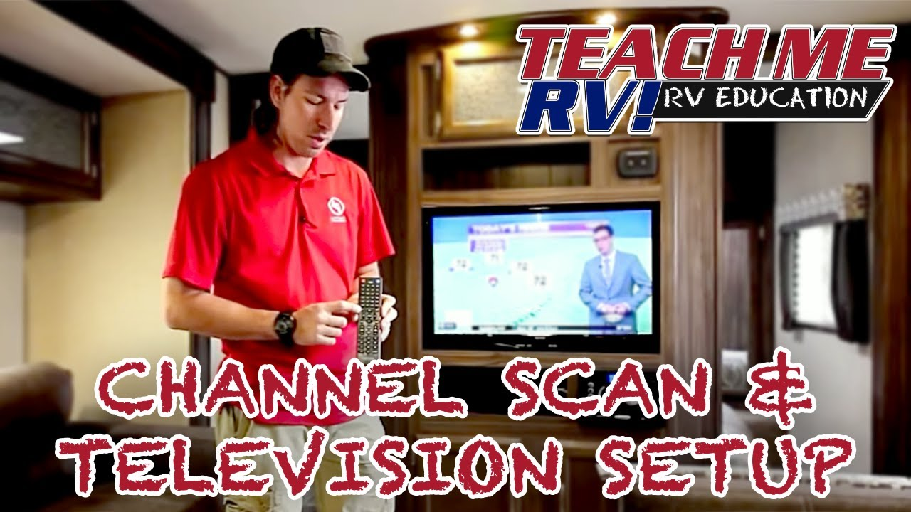 Teach Me Rv How To Perform A Channel Scan And Setup Your Keystone Cable Tv Wiring Diagram Television In Center