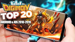 Top 20 Digimon Games 2019 - Android IOS Gameplay