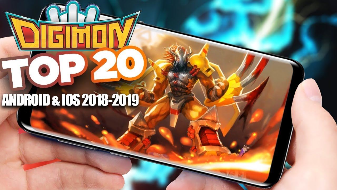 Top 20 Digimon Games 2019 – Android IOS Gameplay