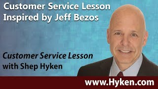 Customer Service Lesson Inspired by Jeff Bezos