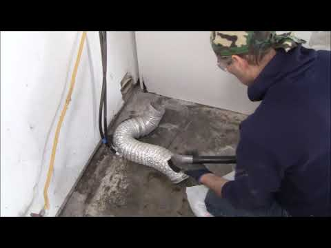 Cleaning Samsung Dryer Vent and PM the Matching Washer
