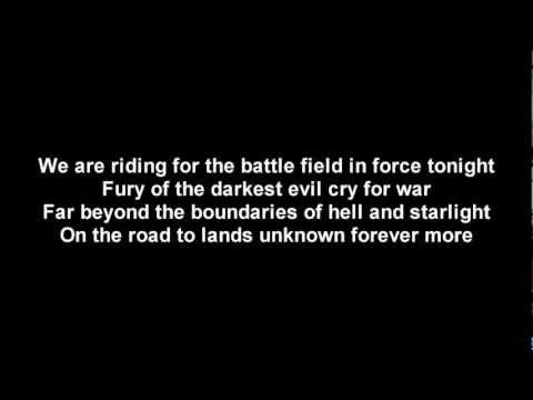 DragonForce - Fury Of The Storm   Lyrics on screen   HD