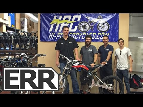 Hi-Power Cycles Headquarters Tour, Interviews and Ride Tests