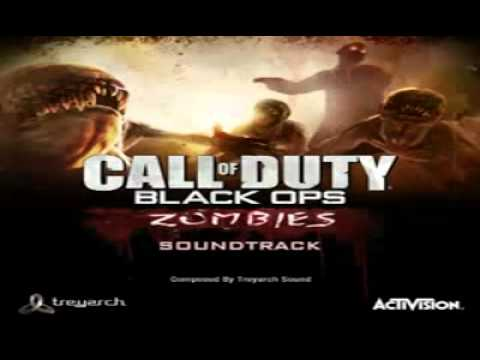 Call of Duty Black Ops Zombies Special Soundtrack  Won't Back Down