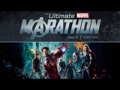 The Ultimate Marvel Marathon {SPOILERS} : Live Audience Reactions | May 3, 2012
