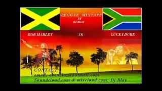 Dj Blay - The Best Of Bob Marley vs Lucky Dube ReggaeMix