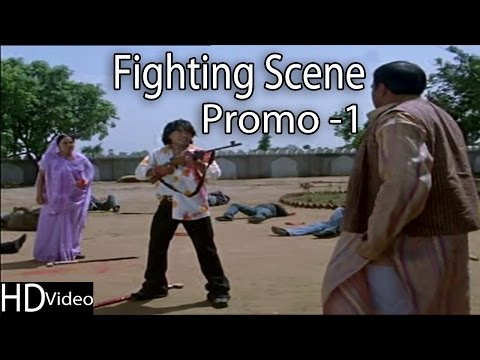 Vikram Thakor Fighting Scence Promo | Gujarati Full Movie | Radha Tara Vina Mane Gamtu Nathi 2014