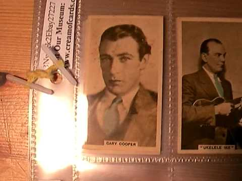 Classic 1930's Movie Star Memorabilia, Incl Buster Keaton ..