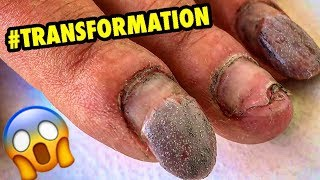 GREATEST #TRANSFORMATION WITH FLAT GOODS FOR RUSSIAN HARD WORKER WOMAN WILD #RUSSIAN STYLE MANICURE
