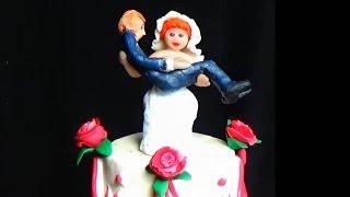 Фигурга невесты. Фигурки на торт. Фигурки на свадебный торт. Украшение свадебных тортов.