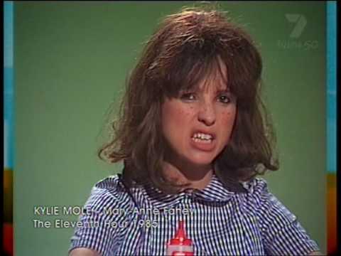 Kylie Mole on 'The Eleventh Hour' 1985
