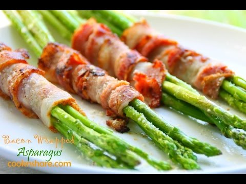 Bacon Cheese Wrapped Asparagus