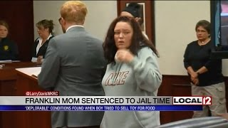 Mother of Franklin boy who tried to sell toy for food is sentenced