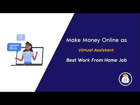 How to make money online as a Virtual Assistant? -  Best Work From Home Job