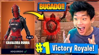 THE SKIN OF CAVALEIRA RUBRA RETURNED BUGADA AT FORTNITE!!
