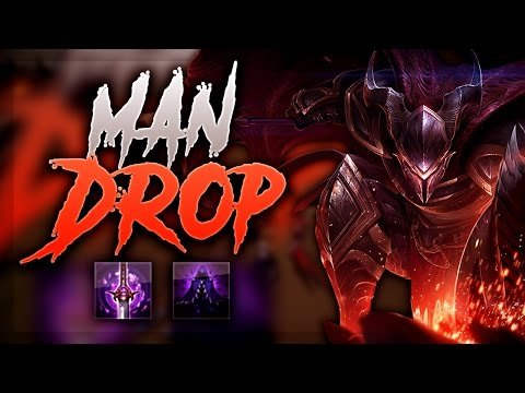 MAN DROP! PANTHEON TOP HARD SNOWBALLS THE TEAM! - League of Legends Gameplay