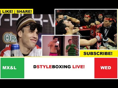 Is Chavez Jr Is A F*&kUp? | DSTYLEBOXING LIVE!