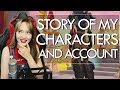 watch he video of MY CHARACTERS AND ACCOUNT STORY