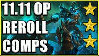 Top 5 Best Reroll Comps 11.11 in TFT Set 5