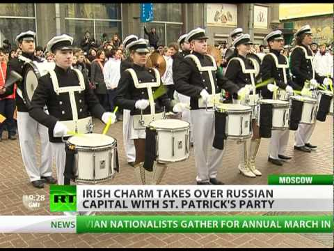 Green beer & Irish charm take over Moscow for St Patrick's