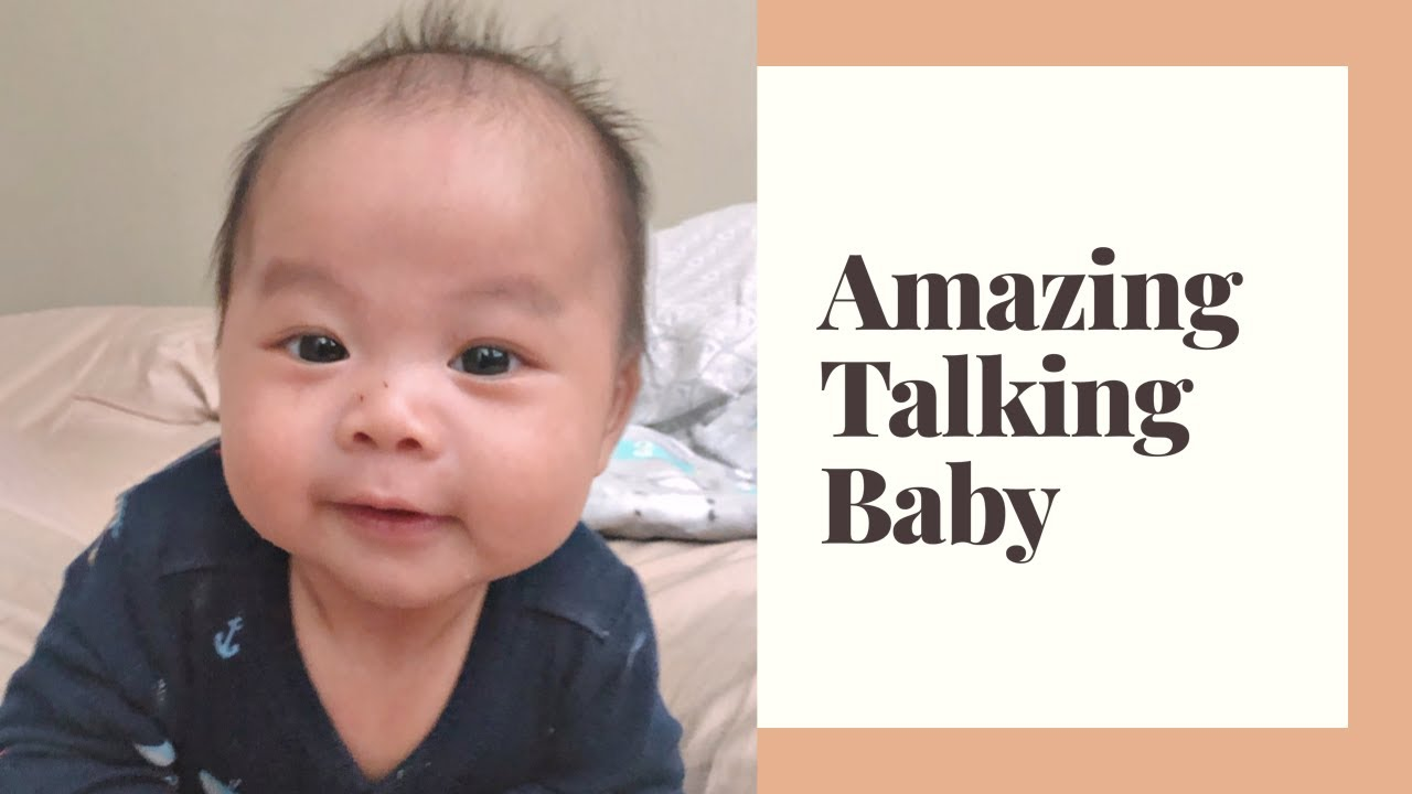 """2 month old Baby Talking: Says """"I love you"""" to mom - YouTube"""