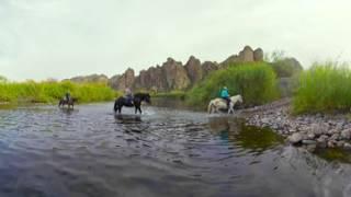 Mesa Arizona Horseback Riding 360 Video
