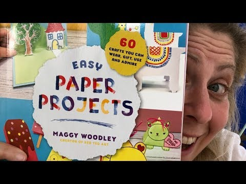 60 Easy Paper Projects - The new Red Ted Art Craft Book for Kids