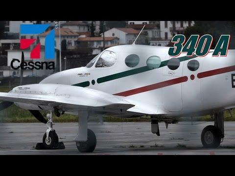 Airplane Cessna 340A Eas /Leso.