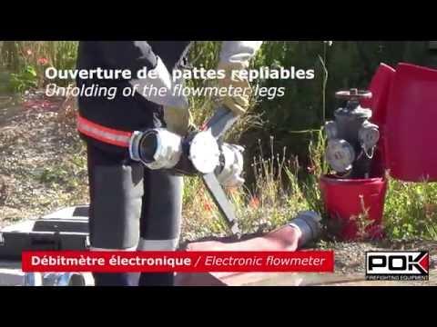 Débitmètre électronique / Electronic flowmeter - POK - 001