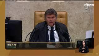 Fux esquece nome de Daniel Silveira ao confirmar prisão de deputado